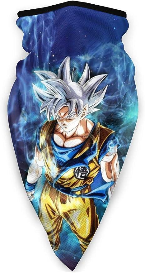 NE Dragon Ball Goku Unisex Deportes a Prueba de Viento Cara ...
