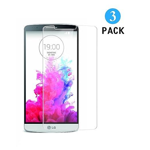 83 opinioni per 3 Pezzi Vetro Temperato LG G3, WEOFUN Display Proteggi Schermo per LG G3 D855