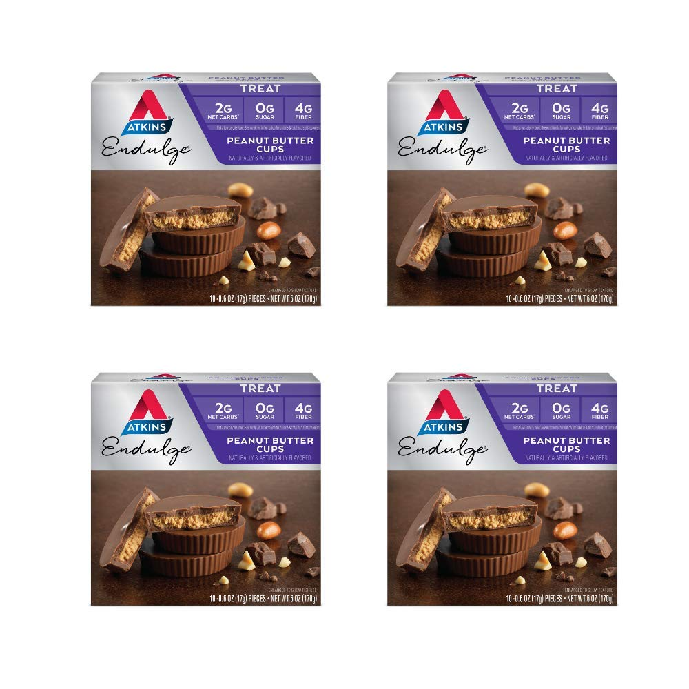 Atkins Endulge Treat, Peanut Butter Cups, Keto Friendly, 40 Count by Atkins (Image #1)