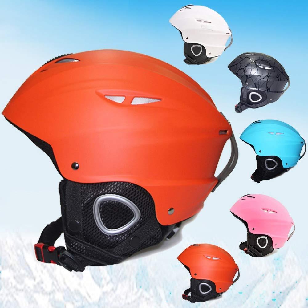 子供用ヘルメット、サイクリング、スケート、スクーティング、スキー、自転車用通気性通気口12個付き子供用安全調整自転車ヘルメット(56-59cm) (Color : Orange)   B07Q3DYQZW