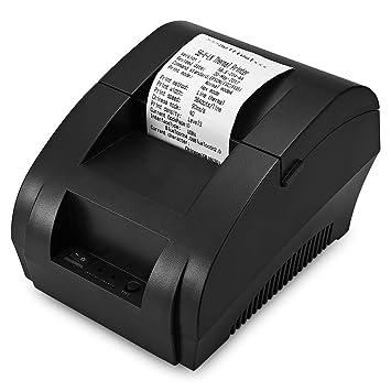 EISHOW Impresora portátil Bluetooth máquina de Recibos ...