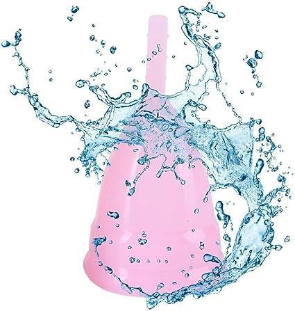 Luckystar4you Copa Menstrual Reutilizable para Mujeres y ...