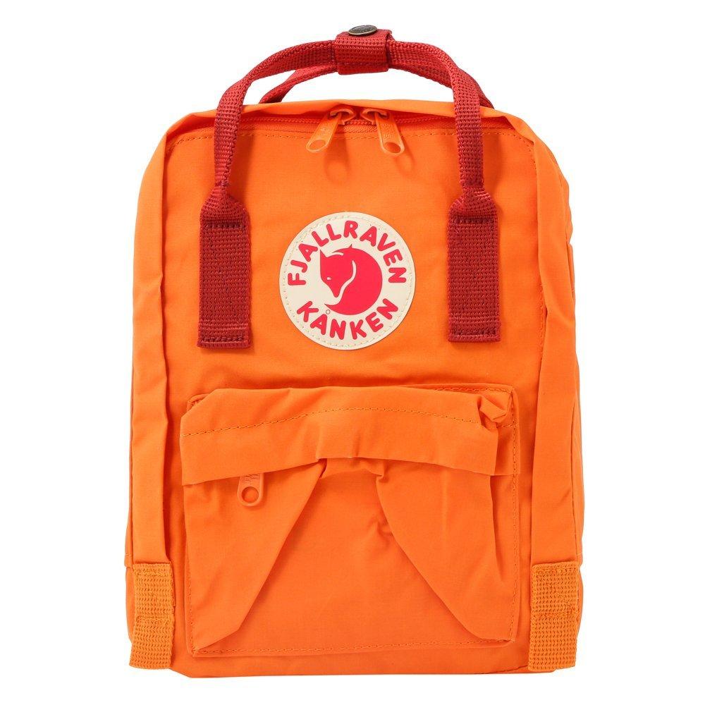 カンケン ミニ リュック 7l FJALL RAVEN フェールラーベン Kanken Mini [並行輸入品] B01FX7K12G 20/Burnt Orange/Deep red 20/Burnt Orange/Deep red