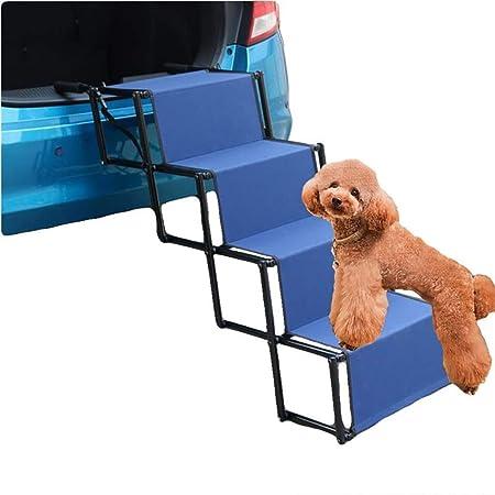 Rclt Escaleras de peldaños for Mascotas for Coche/Cama, Escalera de rampa Plegable for Mascotas for Perros Grandes, Proteger la articulación y la Rodilla de Las Mascotas: Amazon.es: Hogar