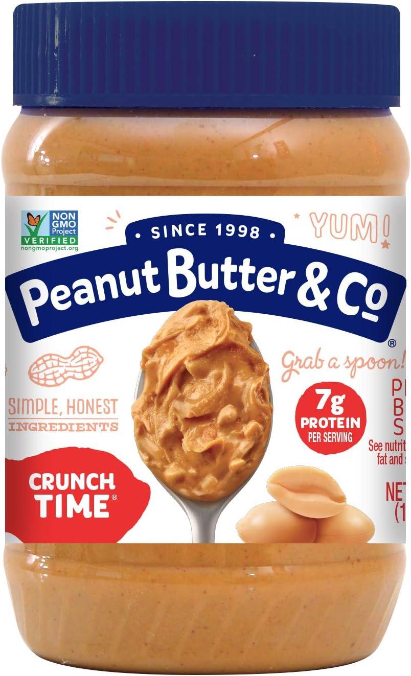 Peanut Butter & Co, Mantequilla de Cacahuete Crujiente - 454 gr.