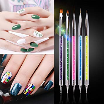 1m Fantasy Stars Sky Gradient Printed As The Picture Show Manicure Template Nail Art Sticker To Prevent And Cure Diseases Stickers & Decals Beauty & Health