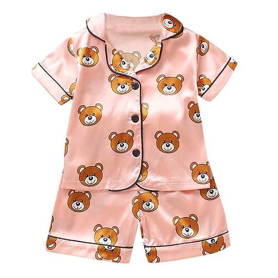 Baiomawzh Ropa Bebe Niño Niña Recién Nacido Verano Pijamas ...
