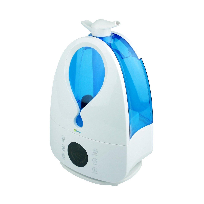 Luftbefeuchter ultrasonico-Anionen Yatek hf-001drehbar blau mit Fernbedienung