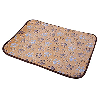 Pet Dog Mat,Pet Dog Reversible Blanket,Cat Puppy Chilly Ice Cooler Summer Sleeping Bed Pad,Kennels House Hole Cave Nest