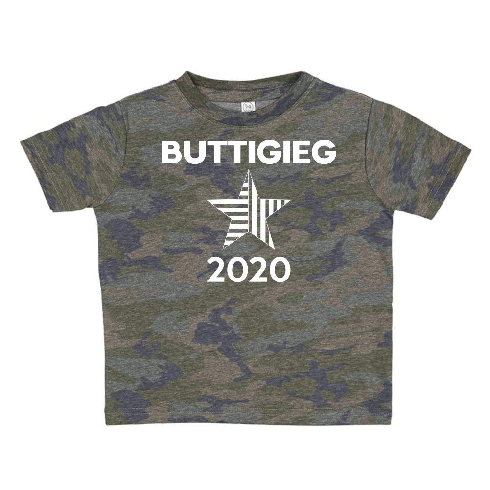 Star Mashed Clothing Buttigieg 2020 Presidential Election 2020 Toddler//Kids Short Sleeve T-Shirt