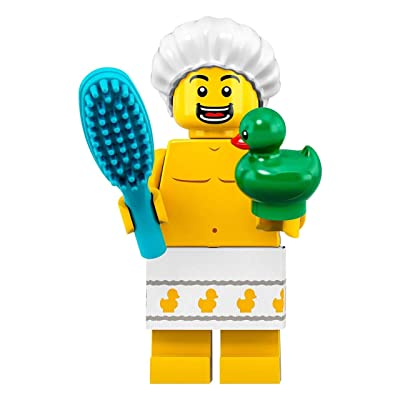LEGO Minifigures Series 19 Shower Guy with Duck Minifigure 71025: Toys & Games