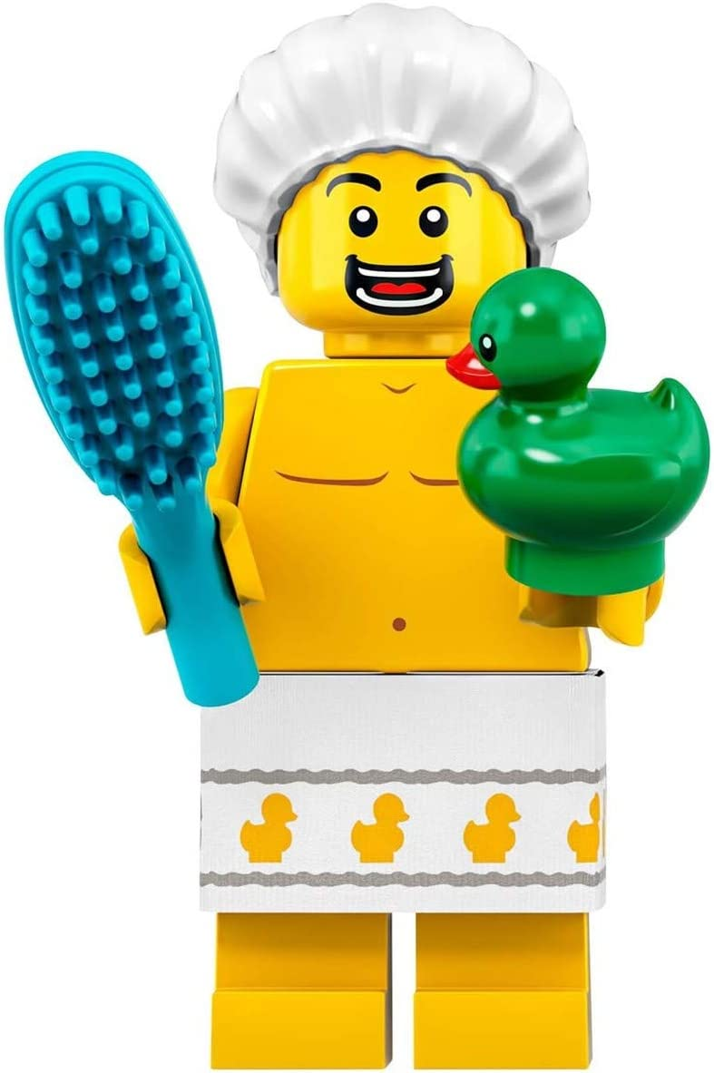 LEGO Minifigures Series 19 Shower Guy with Duck Minifigure 71025