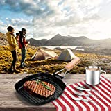 Odoland Camping Cookware Frying Pan with Folding