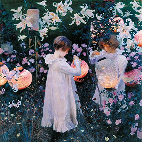 Posters: John Singer Sargent Poster Art Print - Carnation, Lily, Lily, Rose, 1885-86 (16 x 16 inches)