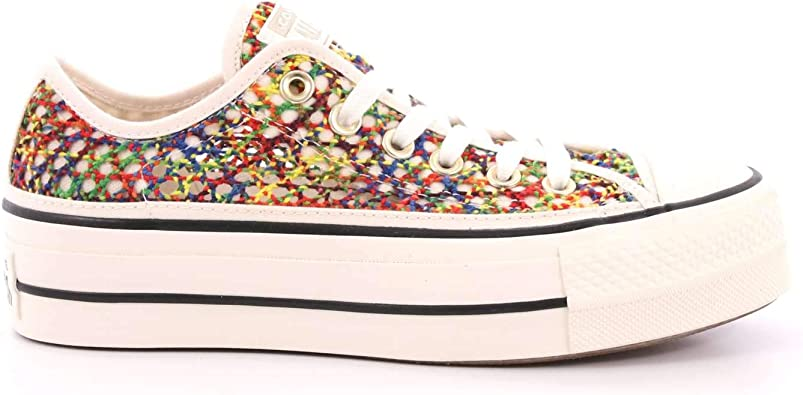 Converse, CTAS Ox Multi 564874C, Sneakers avec Plateforme ...