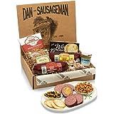 Dan the Sausageman's Klondike Gift Box -Featuring Dan's Original, and Garlic Smoked Summer Sausages