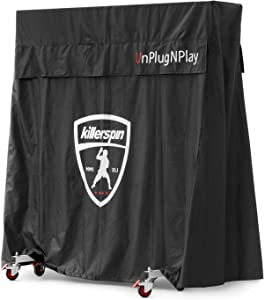 Killerspin MyT Jacket Ping Pong Table Indoor/Outdoor Universal Cover Black