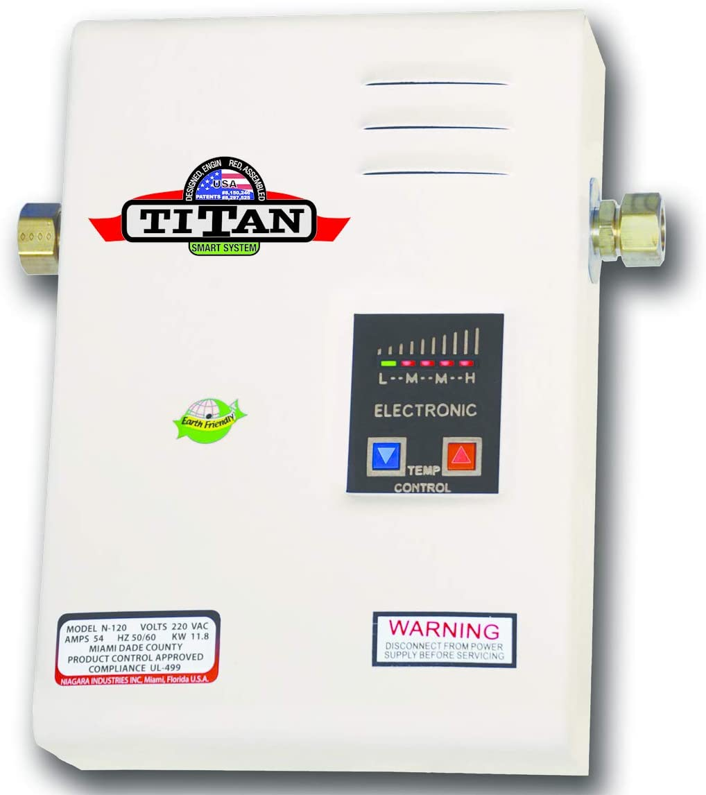 Titan SCR2 N-120 Electric Tankless Water Heater 220 Volts Image