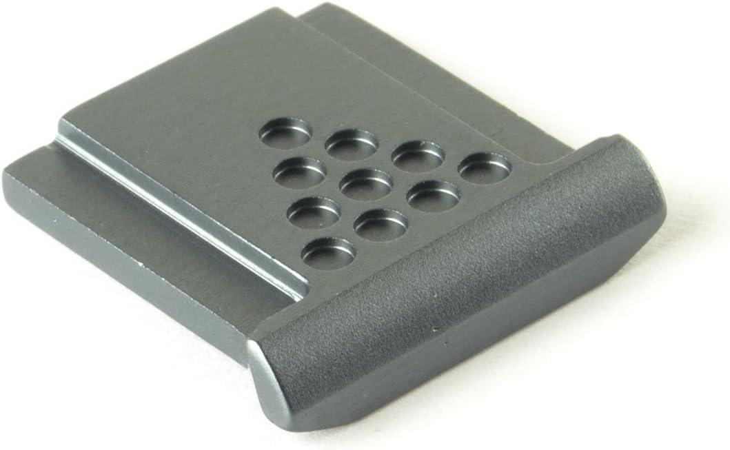 DSLRKIT Metal Universal Hot Shoe Cover for Canon Nikon Pentax Fuji Camera Black