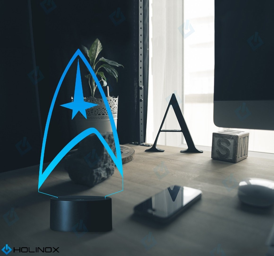Star Trek Lighting Decor Gadget Lamp Awesome Gift (MT015) By Holinox