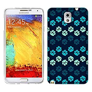 Hu Xiao Head case cover Designs Blues Paws Gel Back case cover for Samsung Galaxy iUSoxdHdlOr Note 3 N9000 N9002 N9005