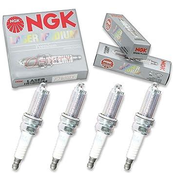NGK tóner 4pcs de iridio Bujías Mitsubishi Outlander 04 - 06 2.4L L4 Kit: Amazon.es: Coche y moto