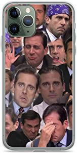 Phone Case Michael Scott Collage - The Office Compatible with iPhone 6 6s 7 8 X XS XR 11 Pro Max SE 2020 Samsung Galaxy Scratch Waterproof