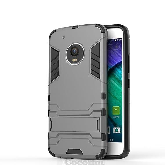 new concept 7ffde ec669 Cocomii Iron Man Armor Motorola Moto G5 Plus Case New [Heavy Duty] Premium  Tactical Grip Kickstand Shockproof Bumper [Military Defender] Full Body ...