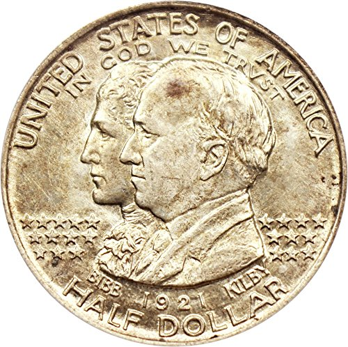 1921 P Silver Commems (1892-1954) Alabama Half Dollar MS64 PCGS