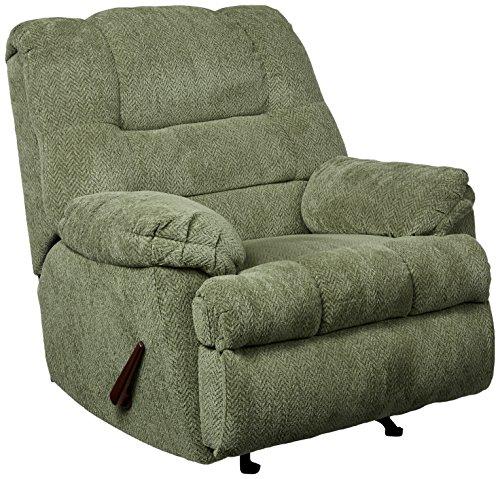 - Simmons Upholstery U600-19 Zig Zag Pewter Rocker Recliner