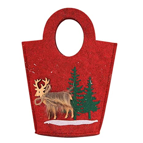 Ganmek Bolsas De Dulces De Navidad Bolsas Decorativas, Bolsa ...