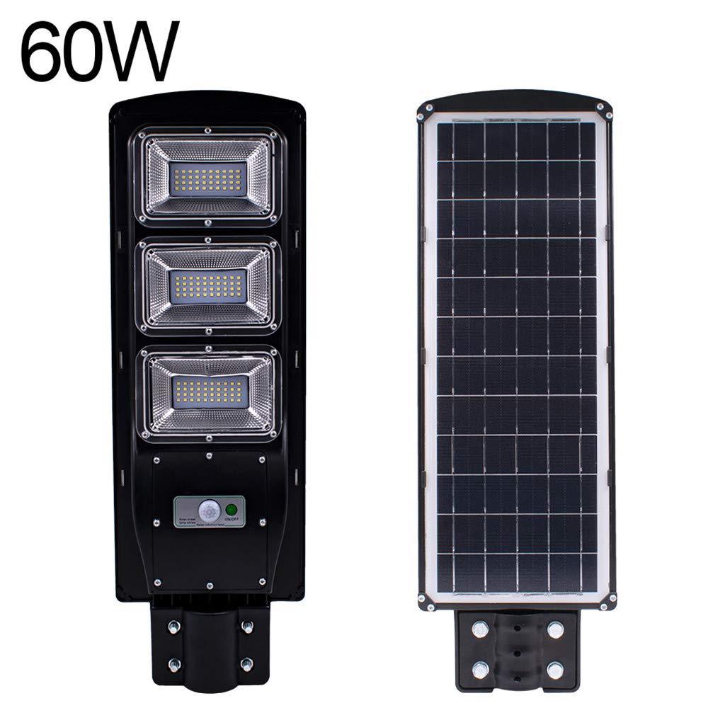 DIRANCE @ Solar Outdoor Path Light- 20W/60W IP67 Waterproof Solar Sensor Street Light Solar Powered Dusk-to-Dawn Motion Sensor Light