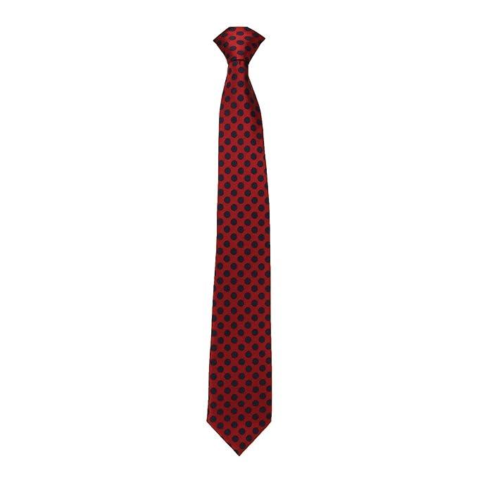 Caldene - Corbata roja de competición (Lunares pequeños) (Rojo ...