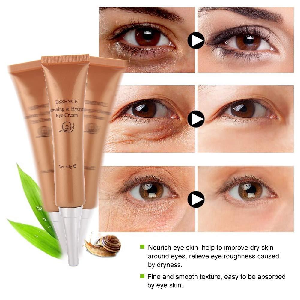 Amazon.com: Crema antiarrugas para ojos, extracto de caracol ...
