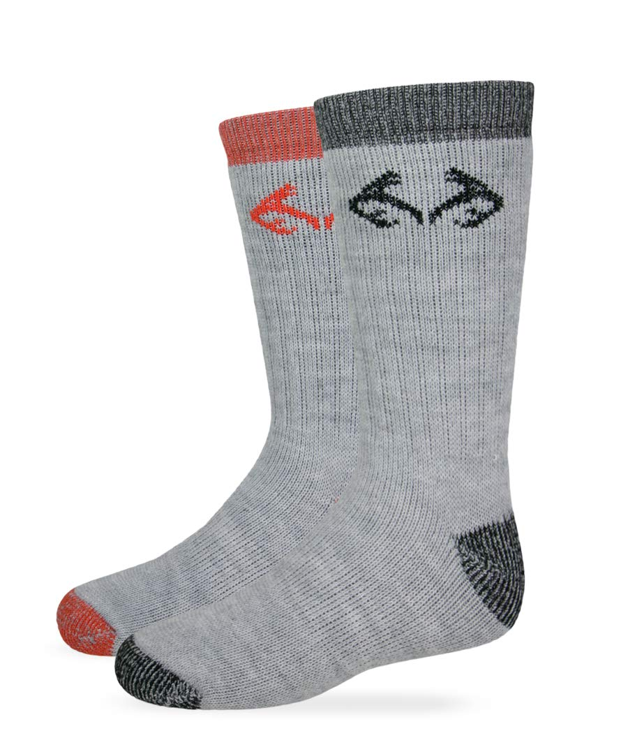 Realtree Kids Merino Blend Boot Socks Assorted Colors Small Carolina Hoisery 2/578