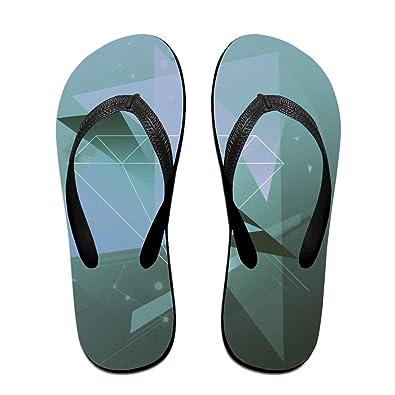05d63ef74302c6 Image Unavailable. Image not available for. Color  Jinqiaoguoji Design  Summer Shapes Shape Line Points Womens Sandals Beach ...