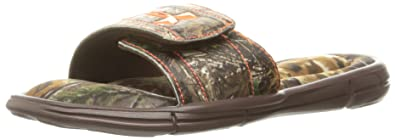 81cf19fd56c3 Amazon.com  Under Armour Men s Ignite Camo V Slide Sandal
