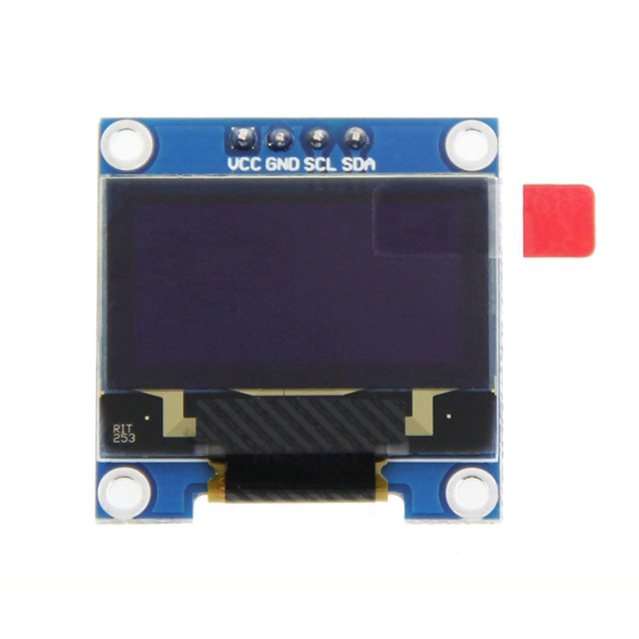 Yellow/&Blue 64 0.96inch Color LCD Display Module with Large Viewing Angle Driver IC SSD1306 0.96inch OLED LCD Resolution 128 Jasnyfall