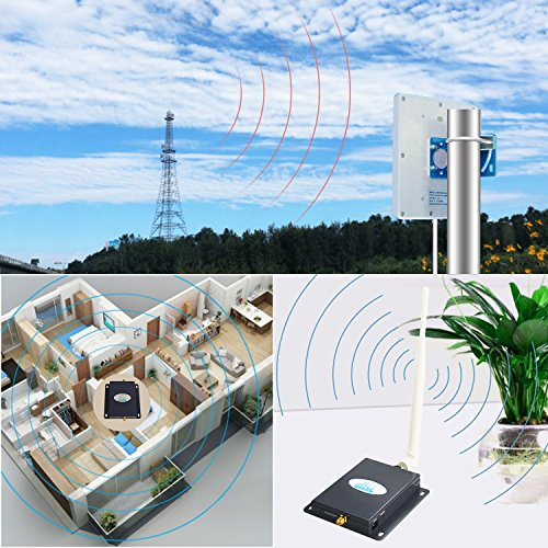 Verizon Cell Phone Signal Booster 4G Lte Cell Booster HJCINTL 700MHz Band 13 Home Mobile Phone Signal Repeater Amplifier Kit Cover- 1500sq ft by HJCINTL (Image #5)