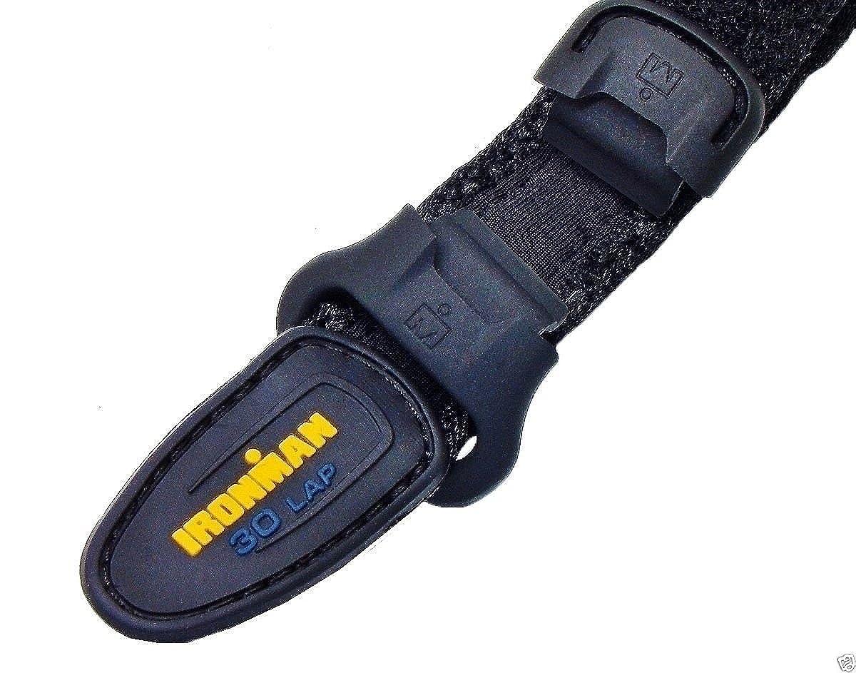 a11534c1e557 Timex 16 mm Ironman® Triathlon 30 Lap Negro Rápido Wrap Correa de Velcro  fitst5 K6939j  Timex  Amazon.es  Relojes
