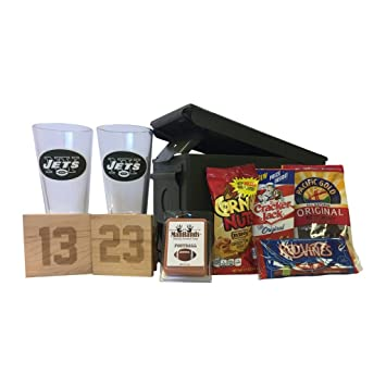 Image Unavailable. Image not available for. Color  Ammo Gift Box Football  Gift Package - NFL - New York Jets 83e81ce60