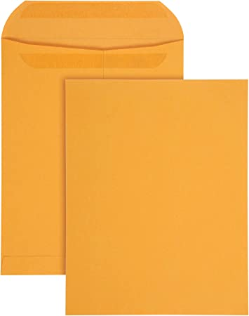 10 EXTRA STRONG Tear//Water-Resistant Legal Envelopes Self-seal Flat Mailer