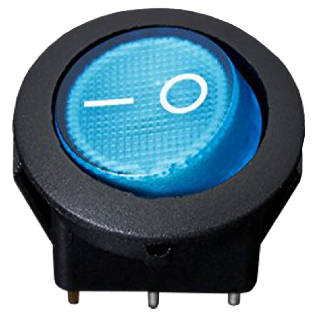 REFURBISHHOUSE 5 X 12V 16A LED Interruptor basculante Bipolar ON//Off SPST para Auto Moto Barco Rojo