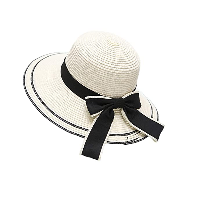 LJK Sombreros de Playa para Mujer 31373d97932