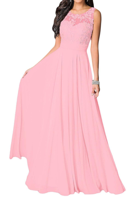Vestido de novia Missdressy, vestido elegante, de gasa, cuello ...
