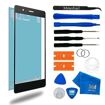 MMOBIEL Kit de Reemplazo de Pantalla Táctil para Huawei P9 (Negro ...