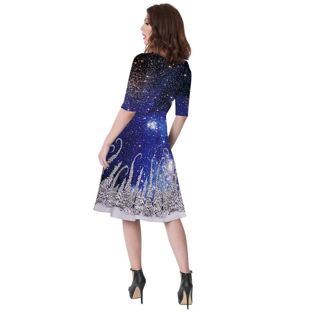 Vestiti 3D Stampa Cerimonia per Mamma e Figlia Gonna Sera Abiti Invernale Dress Principessa Costume Carnevale Natalizi Abbigliamento Vestito Natale Donna Abito Elegante Ragazza Bambina
