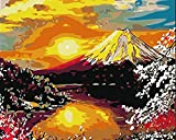 Best Fuji Acrylic Paints - DIY Oil Painting by Numbers,Mount Fuji Japan Art Review