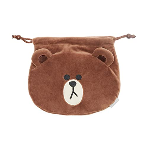 Amazon.com: LINE FRIENDS Bolsa con cordón – Bolsa de joyería ...