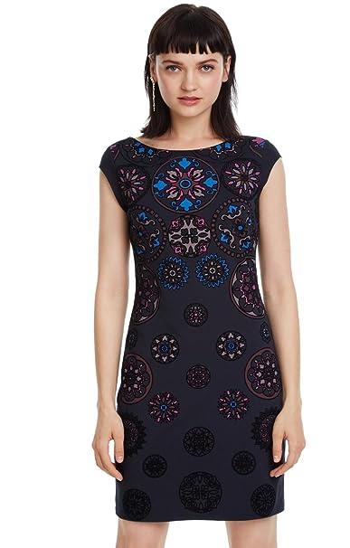 Desigual - Vestido Sofia Mujer Color: 5075 Talla: Size S